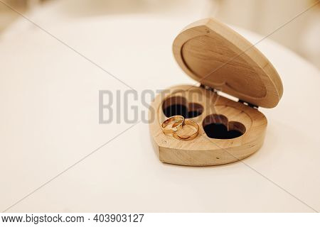 Wooden Box For Marriage Rings Wooden Box For Marriage Rings In Shape Of Heart