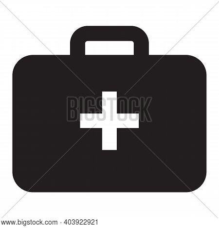 First Aid Kit Icon. First Aid Kit. First Aid Kit Illustration Template