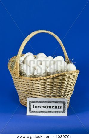 Investment Eggs In A Basket