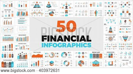 50 Financial Infographic Templates For Your Presentation. Perfect For Your Next Business Project. In