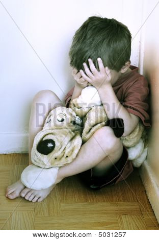 Concept Of Child Abuse.