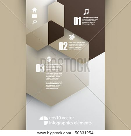eps10 vector infographics background