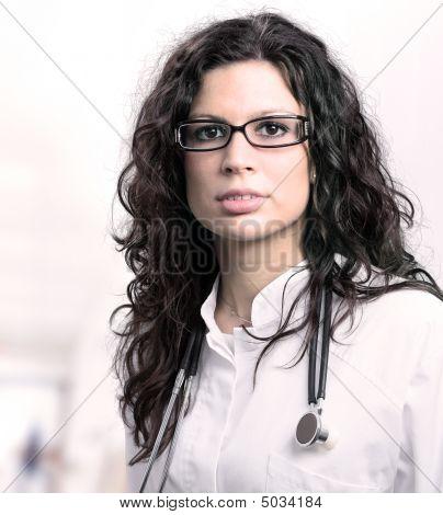 Beautiful Female Doctor