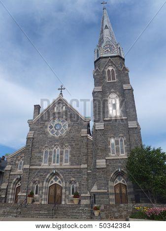 St. Mary Roman Catholic Church in Norwalk, Connecticut