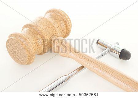 Gavel With Reflex Hammer