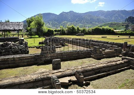 Ruins Hindu Temple