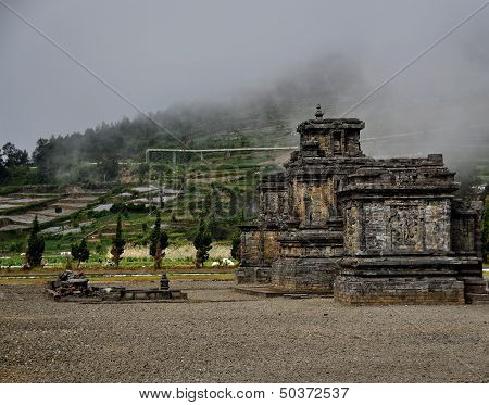 Hindu Temple at Dieng Plateau