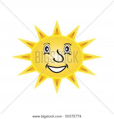 Sun With A Face