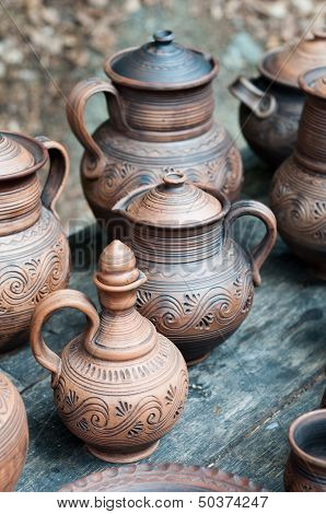 Clayware Pitchers