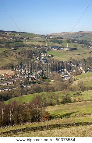 Yorkshire valley in early Spring