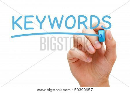 Keywords Blue Marker