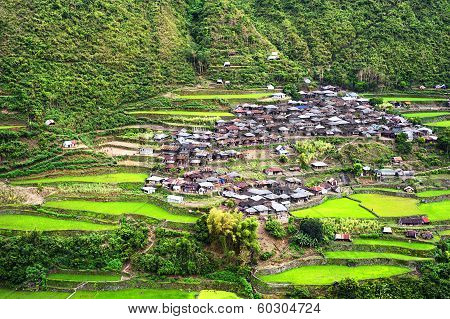 Village In Cordillera Mountains