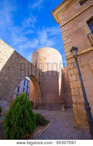 Segorbe Castellon Torre del Verdugo and medieval Muralla in Spain Valencian Community poster