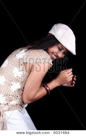 Laughing Indian Babe