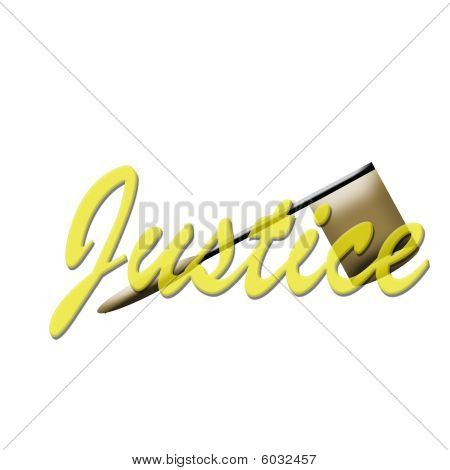 Justice with Gavel