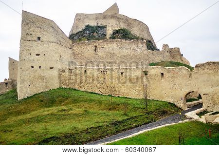 View Of A Feudal Castle