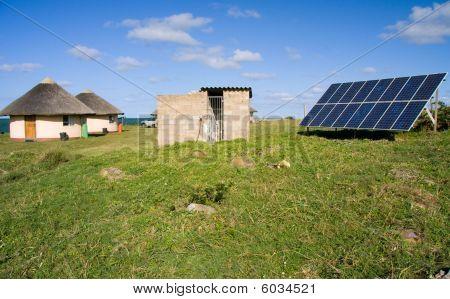 Solar Panel Houses
