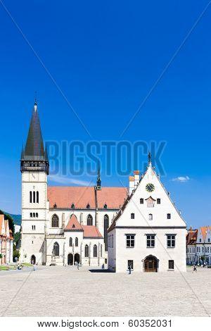 Town Hall Square, Bardejov, Slovakia