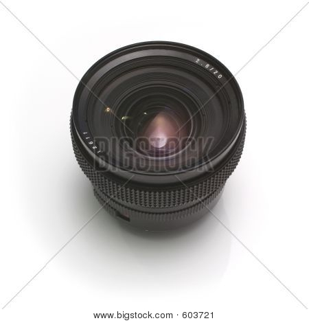 20mm lens close-up poster