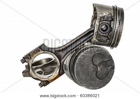Two Pistons And Connecting Rods