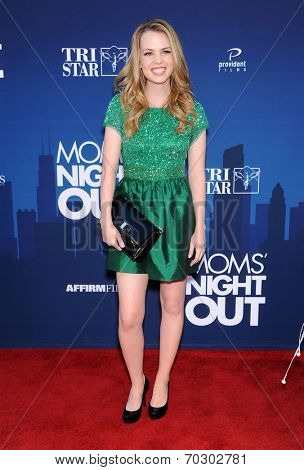LOS ANGELES - APR 29:  Abbie Cobb arrives to the