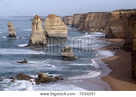 Twelve Apostles. Great Ocean Road. Australia