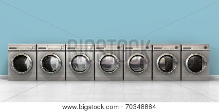 Washing Machine Empty Row
