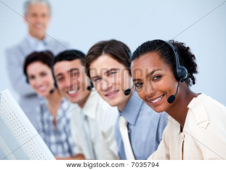 Charming Customer Service Representatives
