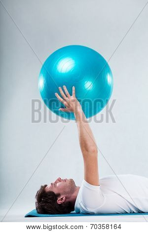 Exercise On Floor Exercise Mat