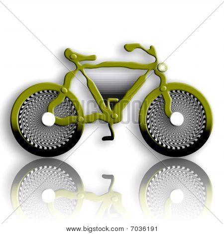 Military Styled Bicycle