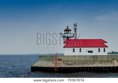 Lighthouse On Lake Superior