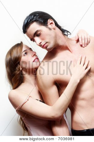 Young Couple In Love Problems
