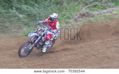 Motocross In Sariego, Asturias, Spain..