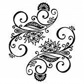Vector Deco Ornate Abstract Elements. Design elements poster