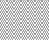 Gray and White Zigzag Textured Fabric Pattern Background that is seamless and repeats poster