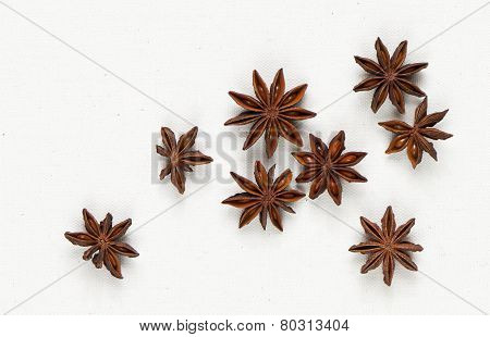 Star Anise, Star Aniseed, Or Chinese Star Anise