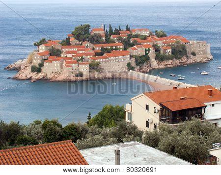 Respectable Resort Island Of Sveti Stefan