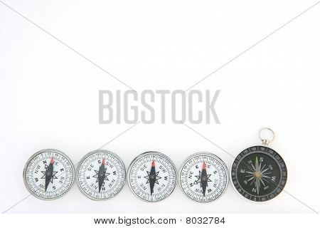 group of compasses