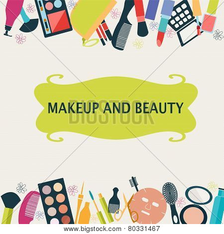 Pattern Makeup And Beauty Cosmetic