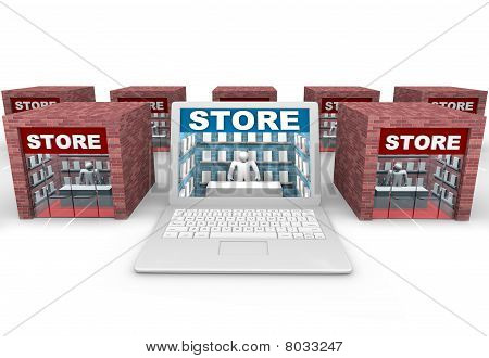 Online Vs Brick And Mortar Stores