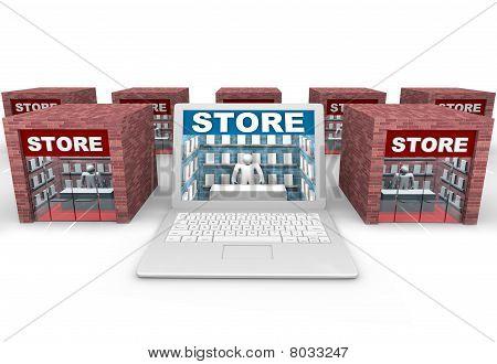 Online Vs Brick And Mortar Stores