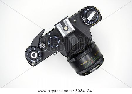 Photocamera Zenit In Private Collection On November 23, 2014