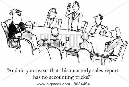 Accounting Tricks