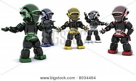 Robots Inconflict