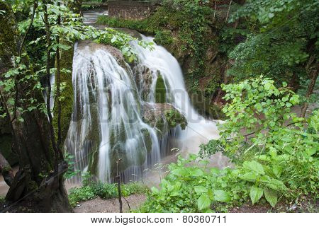Bigar - the most beautiful waterfall in the world. Carpathians