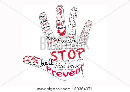 Stop - Right Hand