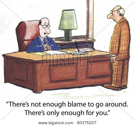 Manager and Blame