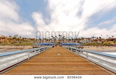 Wide Angle San Clemente Pier