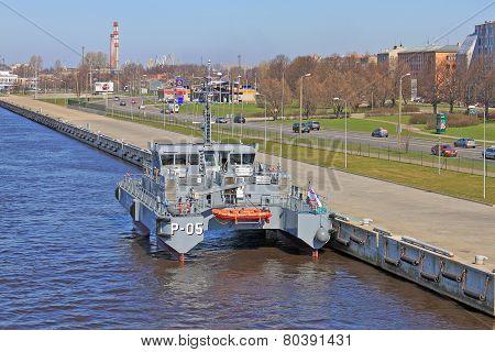 Latvian Patrol Ship
