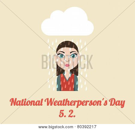 National Weatherperson's Day Poster